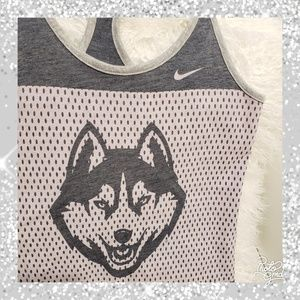 Nike Tops - Uconn country Huskies nike tank top xs